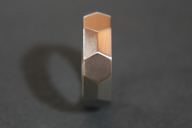 Benzene Wedding Ring